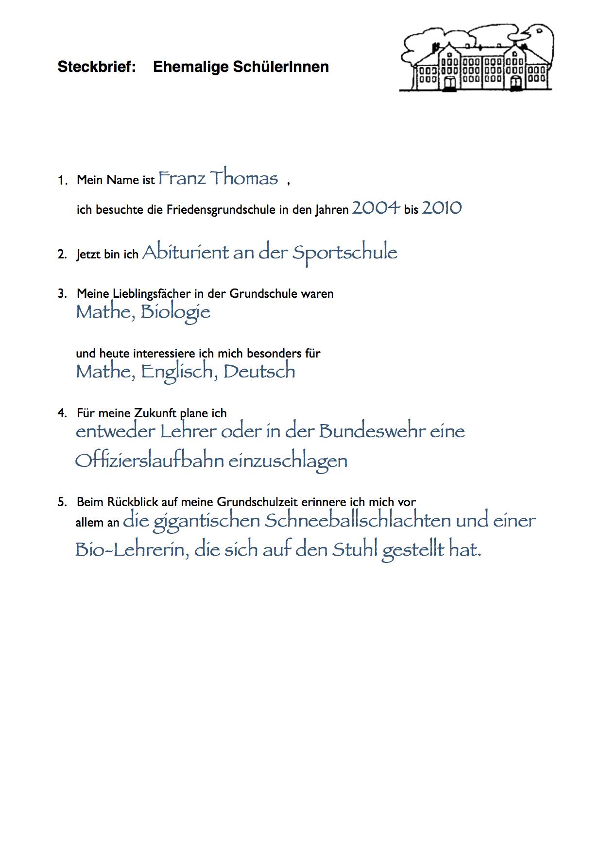 tiersteckbrief deutsch grundschule sachunterricht grundschule. Black Bedroom Furniture Sets. Home Design Ideas